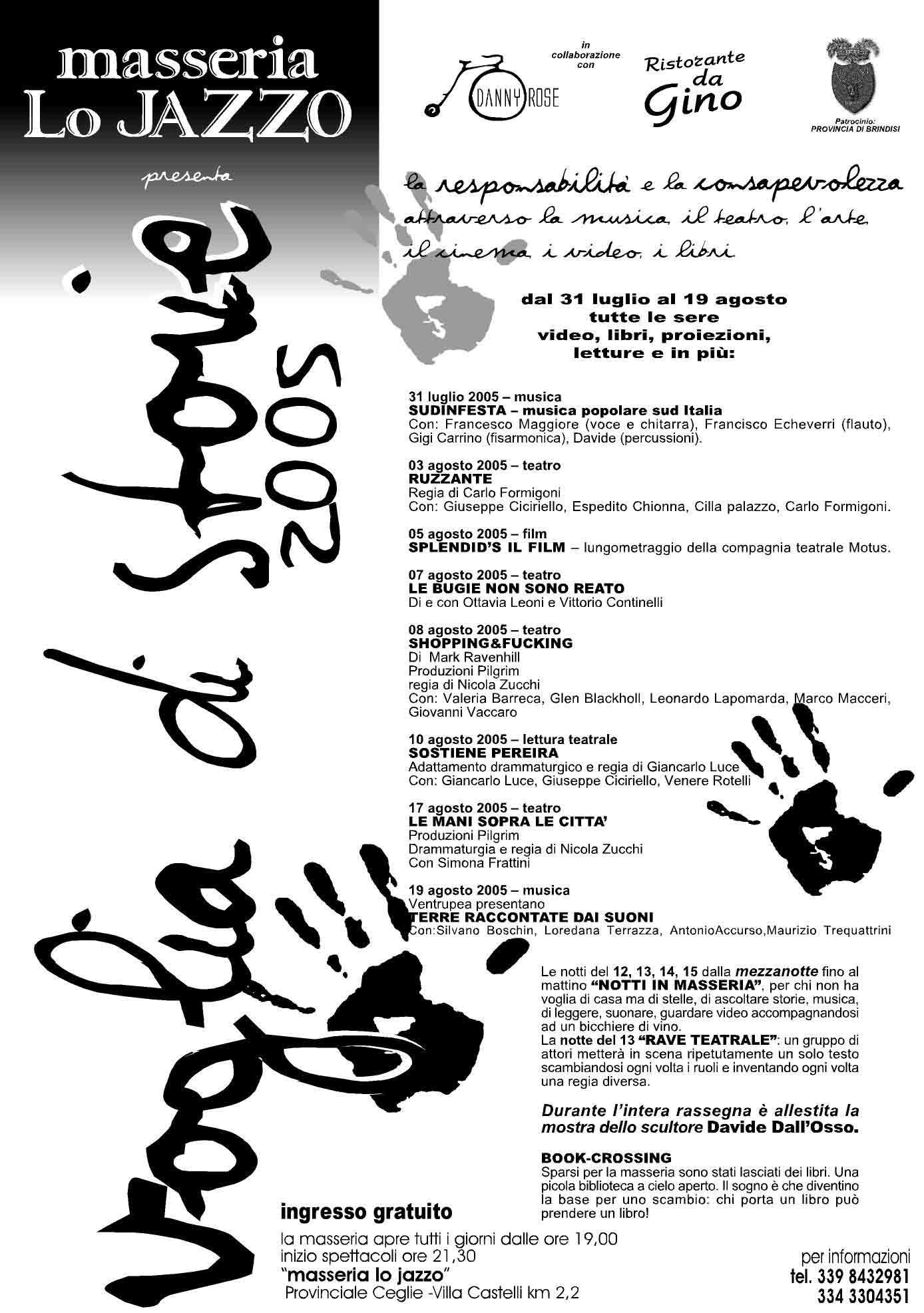 3 LO JAZZO 2005
