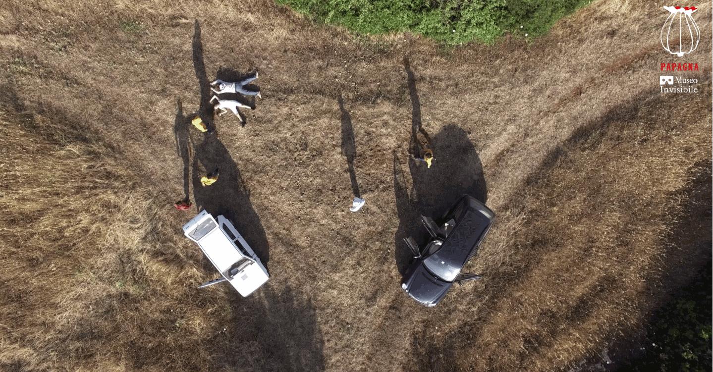 Il Palloncino Rosso, corto da drone, 2017